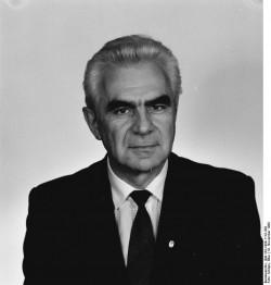 ADN-ZB/Schöps/19.11.89 Berlin: Mitglied des Ministerrates der DDR/Dr. Klaus Wolf, Minister für Post und Fernmeldewesen (CDU)