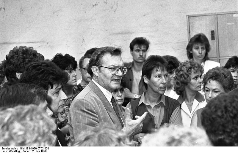 Cottbus, Gerhard Pohl. Quelle: Bundesarchiv, Bild 183-1990-0702-020, Fotograf: Rainer Weißflog