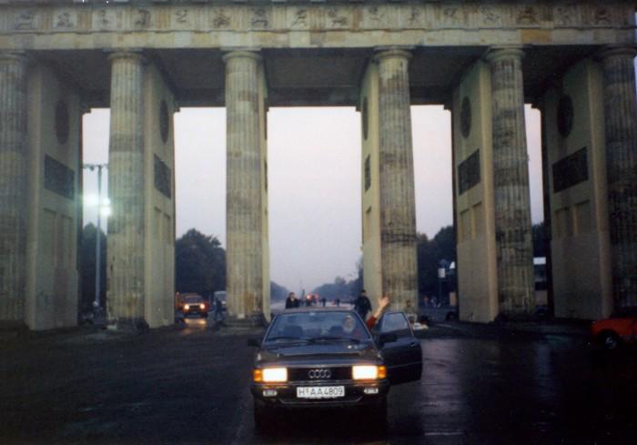 Brandenburger Tor. Quelle: Ursula Senftleben, CC BY-NC-NN, www.wir-waren-so-frei.de
