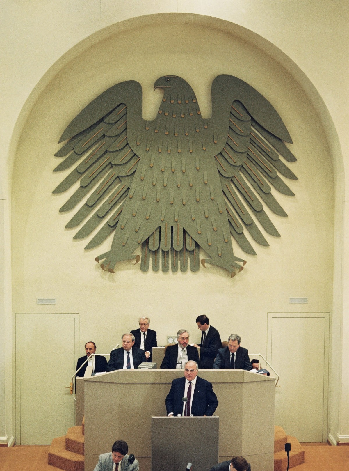 Berlin, Bundestagssitzung 1989. Quelle: Bundesregierung, Fotograf: Reineke
