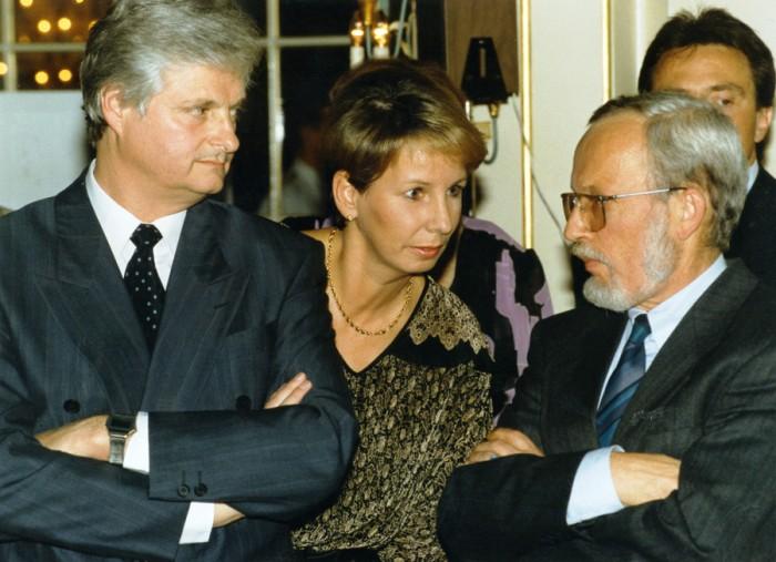 Treffen ehemaliger Minister des Kabinetts de Maizière und der ehemaligen Präsidentin der Volkskammer Frau Dr. Bergmann-Pohl unter dem Thema:
