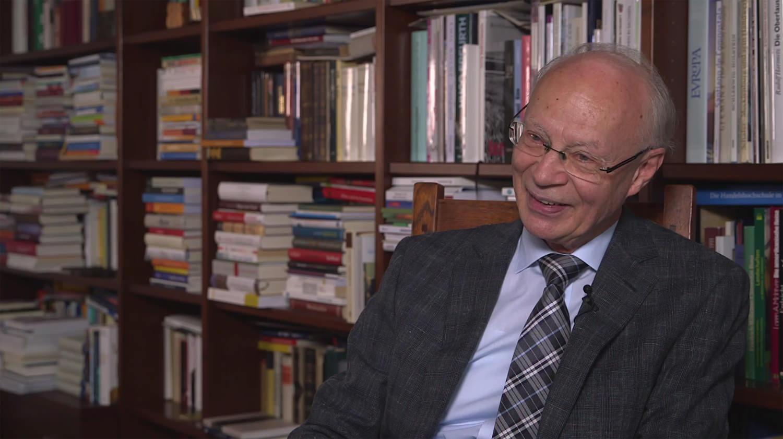 Hans-Joachim Meyer (2015). Quelle: Bundesstiftung Aufarbeitung