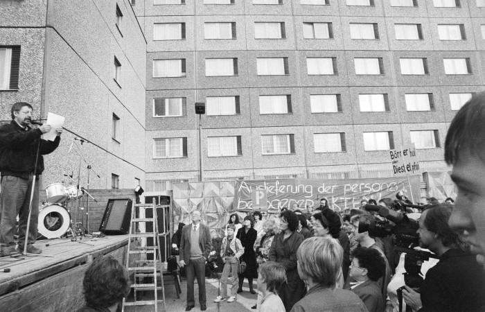 Wolf Biermann, Hungerstreik, Quelle: Robert-Havemann-Gesellschaft/Bernd Markowsky