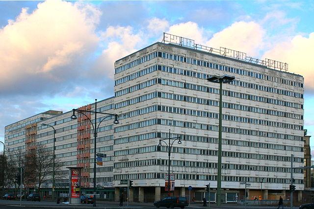 Das Haus der Statistik am Alexanderplatz in Berlin im Jahr 2010.