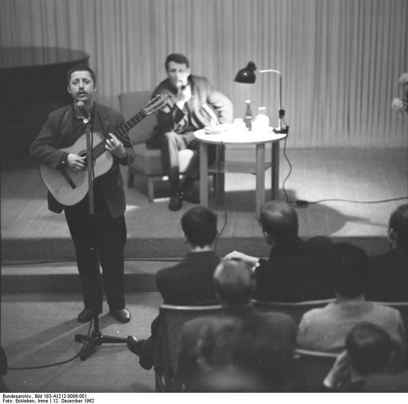 Wolf Biermann. Quelle: Bundesarchiv, Bild 183-A1212-0006-001, Fotograf: Irene Eckleben