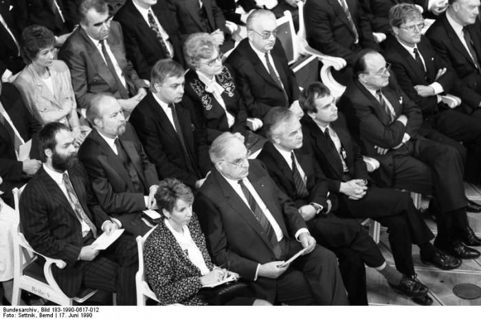 Berlin, Gedenkveranstaltung 17. Juni. Quelle: Bundesarchiv, Bild 183-1990-0617-012, Fotograf: Bernd Settnik
