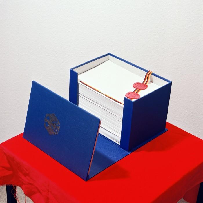 Einigungsvertrag 1990. Quelle: Bundesregierung / Reineke