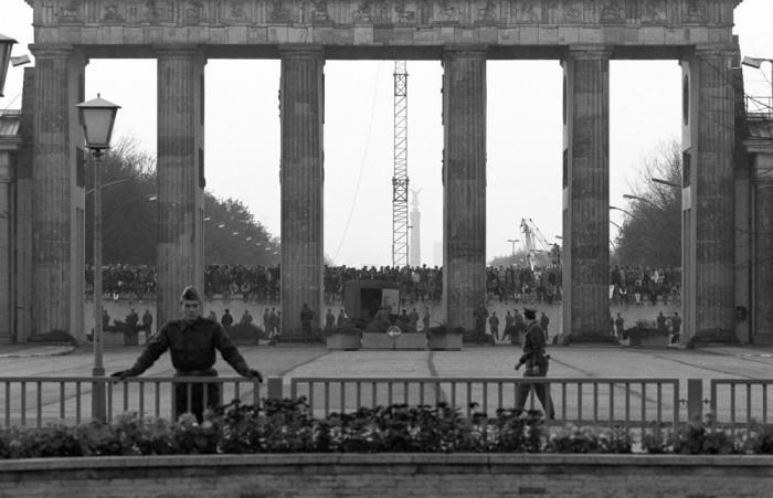 Ansturm von DDR-Bürgern nach West-Berlin