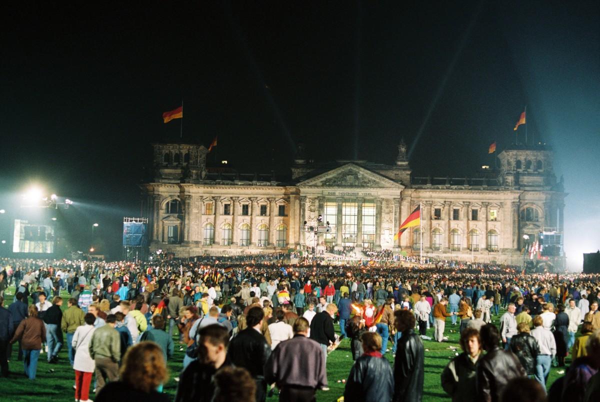 Wiedervereinigungsfeier, Berlin. Quelle: Bundesregierung / Reineke