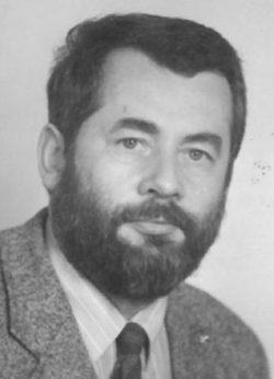 Portraitfoto von Michael Bräuer, 1990.