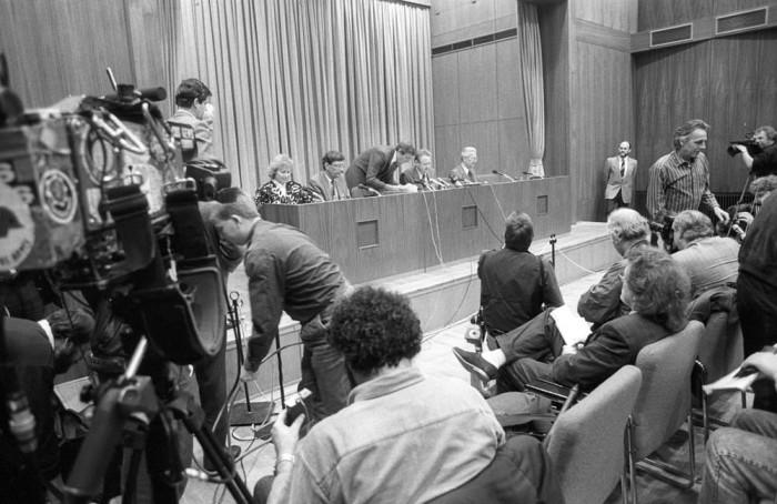 9. November 1989: Pressekonferenz Günter Schabowski