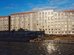 Der Hauptsitz des Ministeriums für Umweltschutz, Naturschutz, Energie und Reaktorsicherheit liegt an der Spree am Schiffbauerdamm 15 in Ost-Berlin. Quelle: Bundesregierung/Kühler