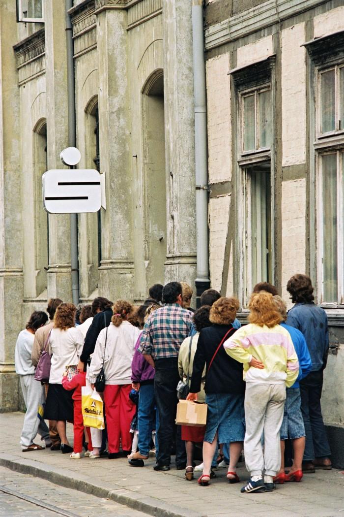 Schwerin / Währungsunion . Quelle: Bundesregierung / Lehnartz