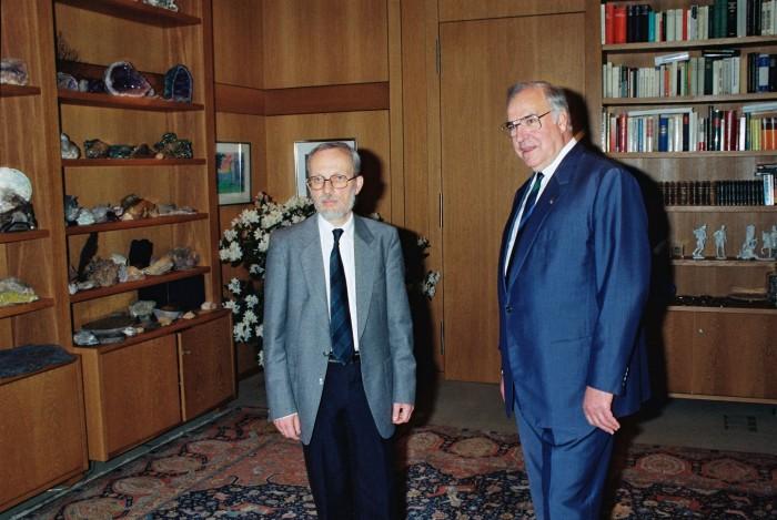 DDR-Ministerpräsident de Maizière in Bonn 1990. Quelle: Bundesregierung / Bild - Presse- und Informationsamt der Bundesregierung