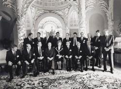 NATO-Gipfel in London 1990. Quelle: Bundesregierung / Stutterheim
